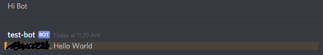We learned how to host a Discord bot!