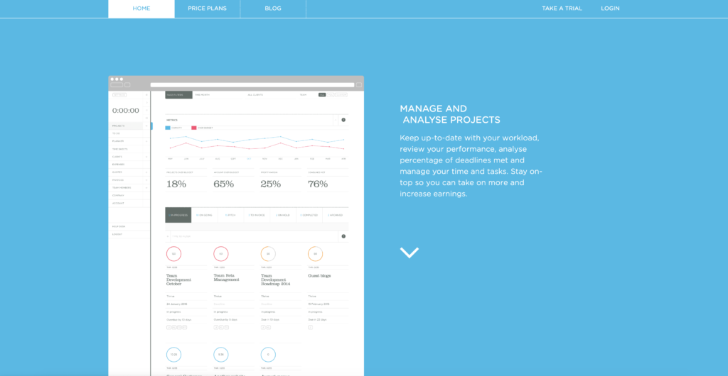 Top ten productivity tools for 2020: Thrive solo, a project management and time management tool
