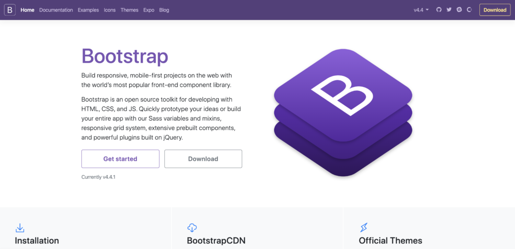Bootstrap, a responsive open source toolkit for web developers