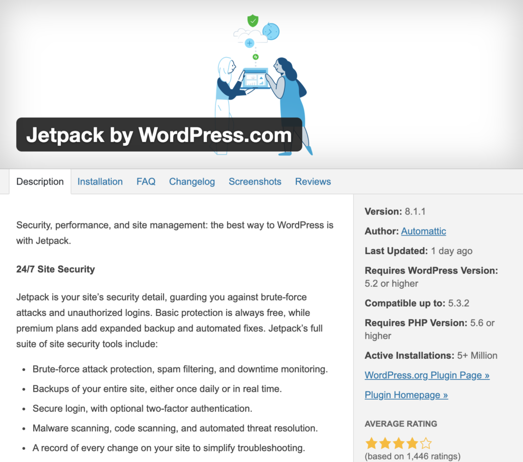 10 must-have wordpress plugins for 2020: jetpack