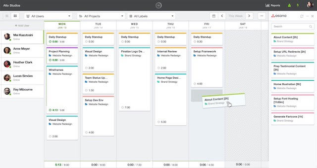 Top 10 Productivity tools for 2020: HourStack